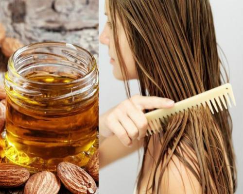 Как делать маски для волос с миндальным маслом