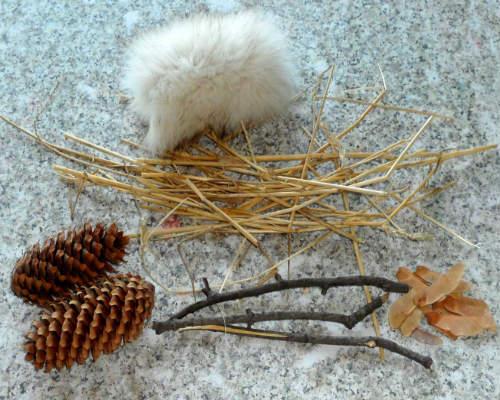 Интересные поделки из природных материалов на тему зима 1