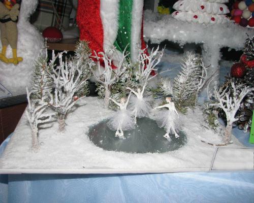 Интересные поделки из природных материалов на тему зима 8