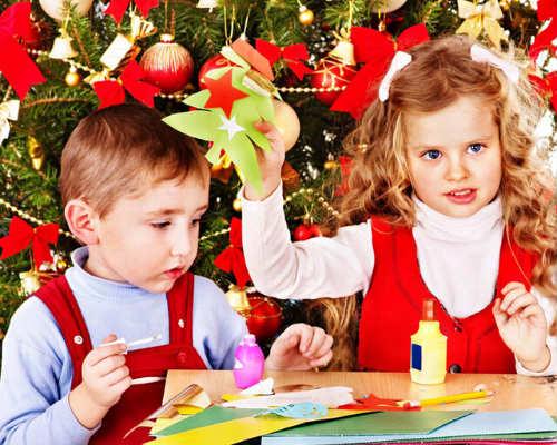 Детские конкурсы и развлечения на Новый год 4