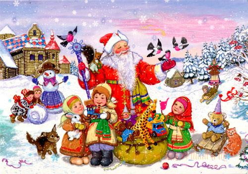 Загадки про новый год с ответами для детей 5-7 лет