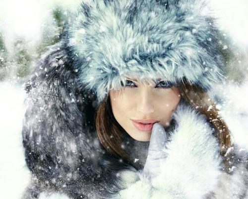 Уходовые процедуры за волосами зимой