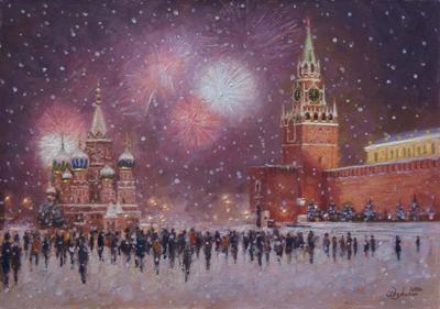 История праздника Новый год: фейверк
