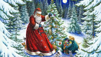 История Нового года в России для детей