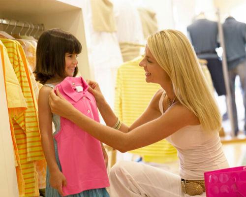 Подбираем размер одежды для ребенка