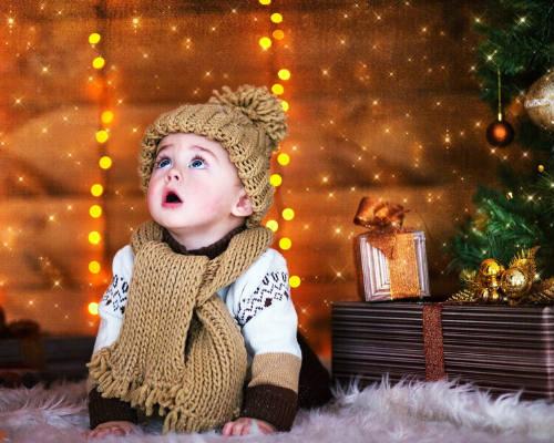 Способ создать праздничное настроение ребенку