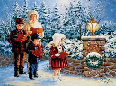 Праздник Рождества для детей в школе