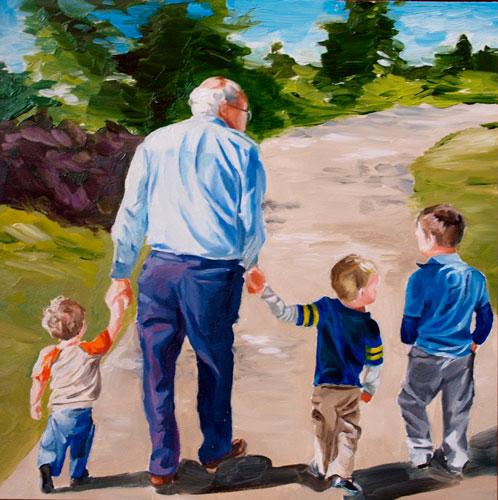 Загадки про дедушку с ответами для детей