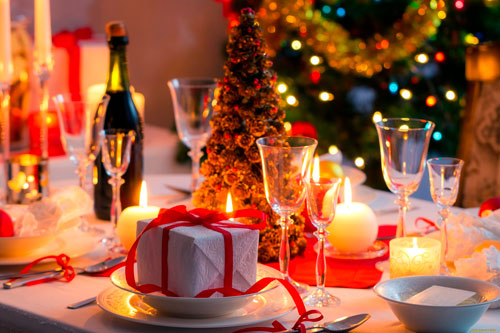 Короткие тосты на Новый год