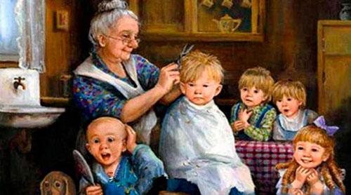 Загадки про бабушку с ответами для детей 5-7 лет