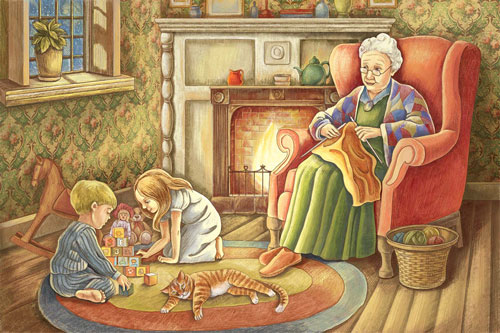 Загадки про бабушку