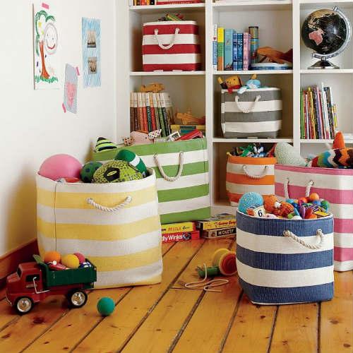 Где хранить игрушки в детской комнате 2