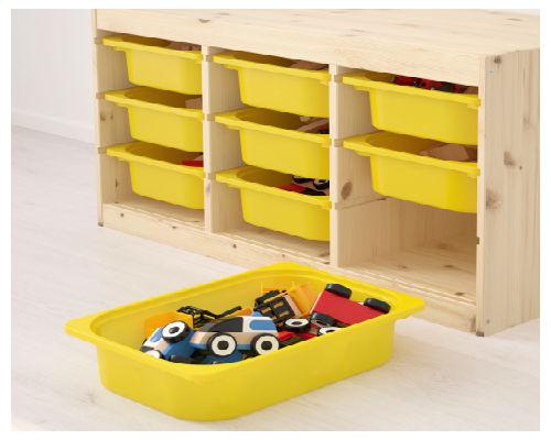 Где хранить игрушки в детской комнате 6