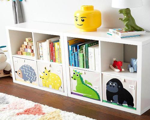 Где хранить игрушки в детской комнате 9