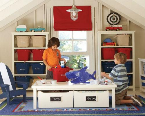 Куда складывать детские игрушки 3