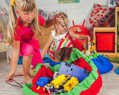 Идеи для хранения игрушек в детской 2