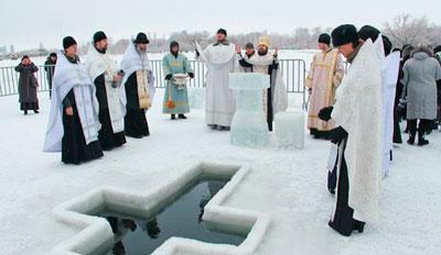 Крещение Господне: история православного праздника на Руси