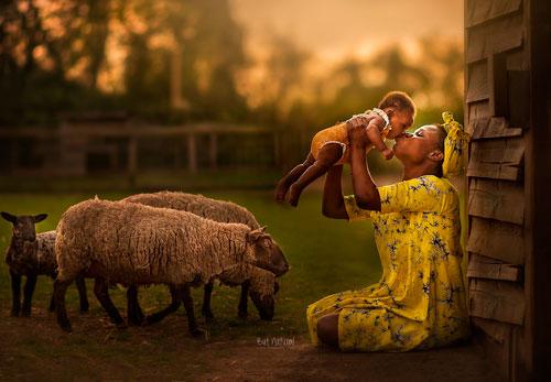 Фотопроект «Материнство» от прекрасного фотографа Sujata Setia 4