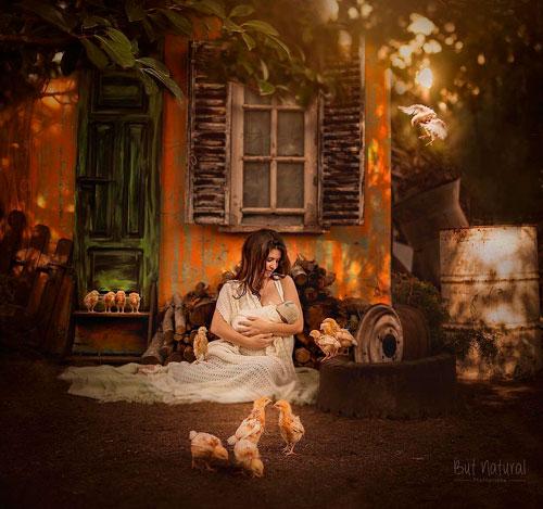Фотопроект «Материнство» от прекрасного фотографа Sujata Setia 3