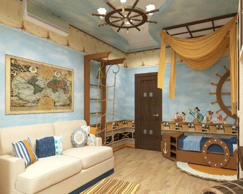 50 лучших идей дизайна детской комнаты 8