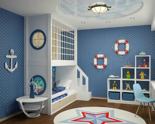 50 лучших идей дизайна детской комнаты 10