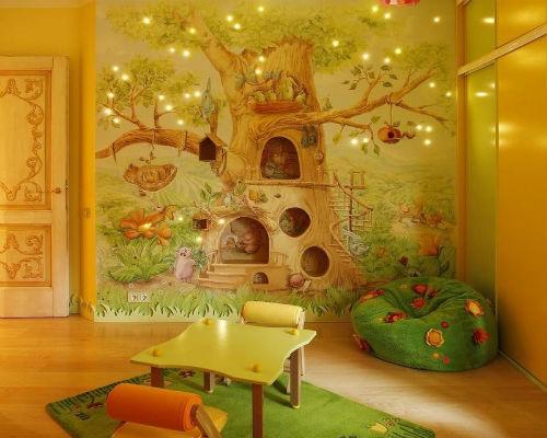 Интересные идеи для детской комнаты 2