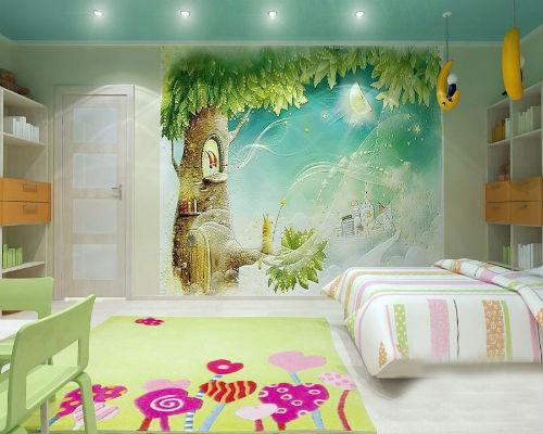 Интересные идеи для детской комнаты 3