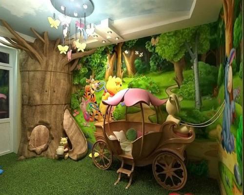 Интересные идеи для детской комнаты 4