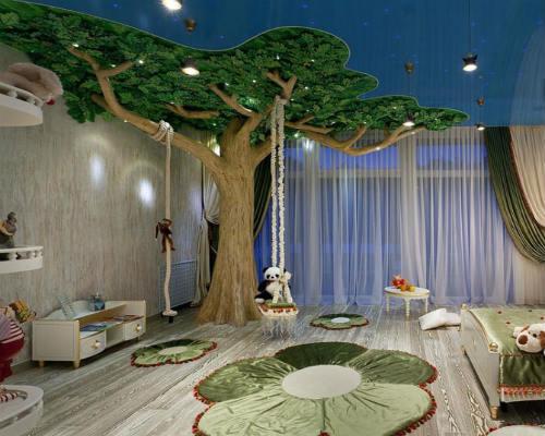 Интересные идеи для детской комнаты 5