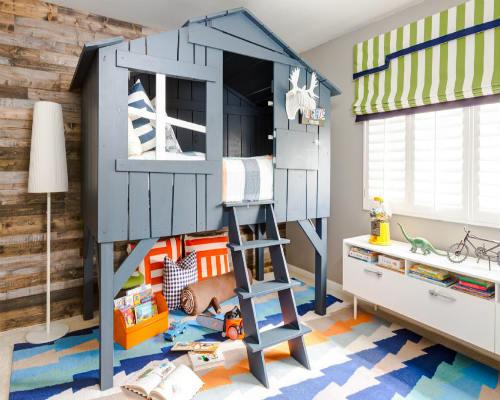 50 идей для оформления детской комнаты 10