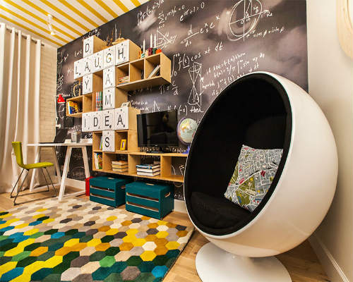 Интересные идеи для детской комнаты 8