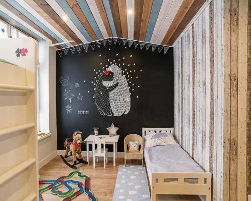 Интересные идеи для детской комнаты 9