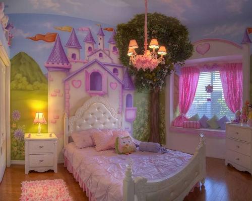 Идеи интерьера для детской комнаты 1