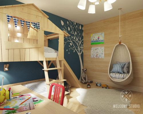 50 лучших идей дизайна детской комнаты 1