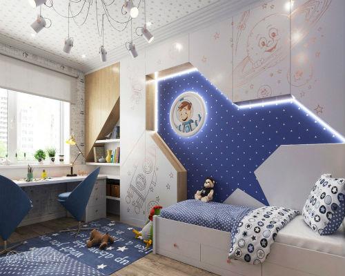 Идеи интерьера для детской комнаты 10
