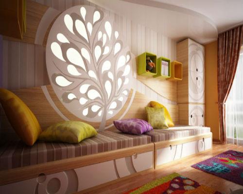 50 идей для оформления детской комнаты 1