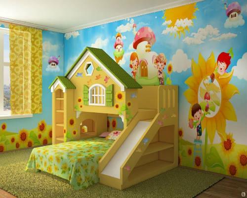 50 идей для оформления детской комнаты 3