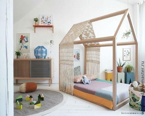 50 идей для оформления детской комнаты 4