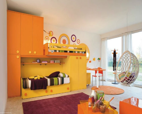 50 идей для оформления детской комнаты 5