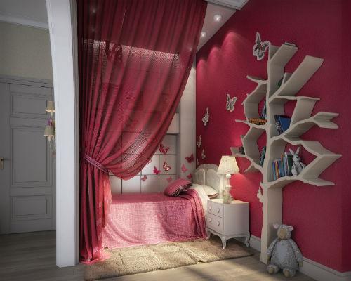 50 идей для оформления детской комнаты 7