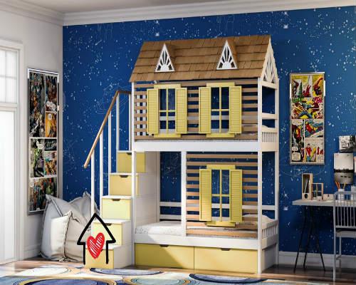 50 идей для оформления детской комнаты 8