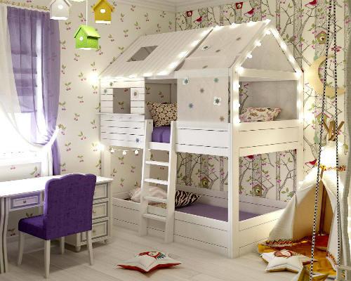 50 лучших идей дизайна детской комнаты 4