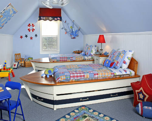 50 лучших идей дизайна детской комнаты 6