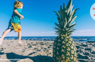 Загадки про ананас для детей