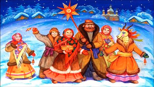 Колядки на рождество для детей