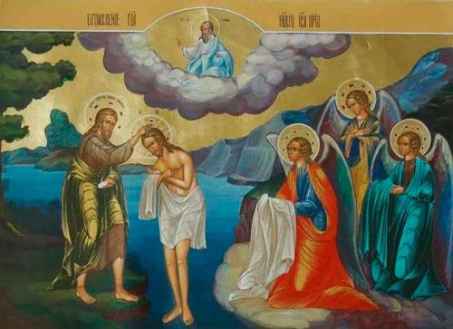 Красивые и короткие поздравления с Крещением Господним в стихах