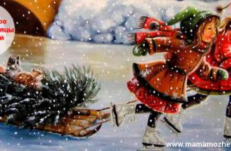 Загадки про зимние месяцы для детей