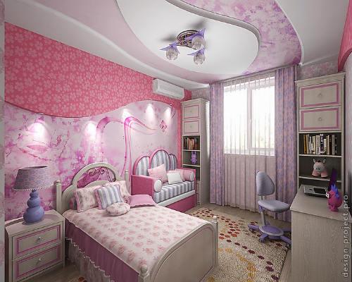 Детская комната для девочки 9