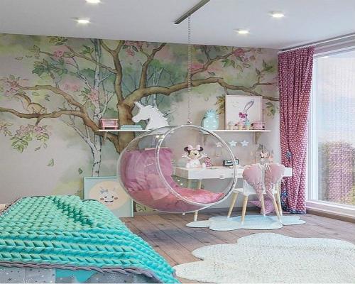 Детская комната для девочки 10