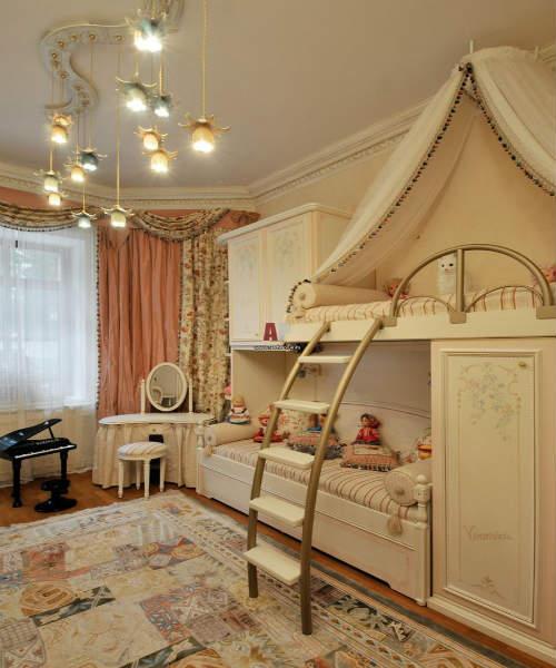 Как обустроить комнату для девочки 8